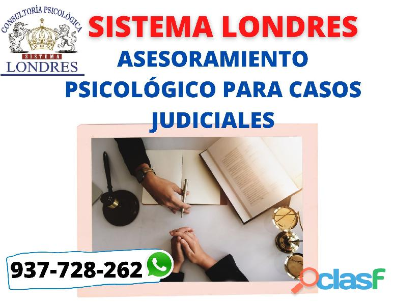 ASESORAMIENTO PSICOLÓGICO PARA CASOS JUDICIALES