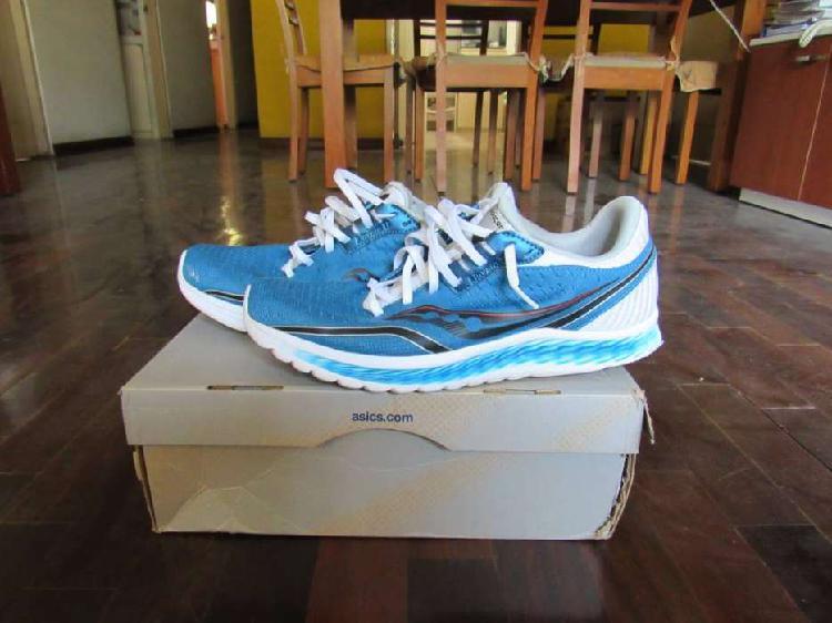 Zapatillas Saucony Azul con Blanco