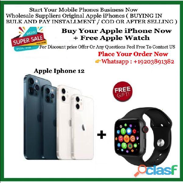 Sellado nuevo iphone 12 pro max + extra apple watch series 5 40 mm (esté entre los primeros usuarios