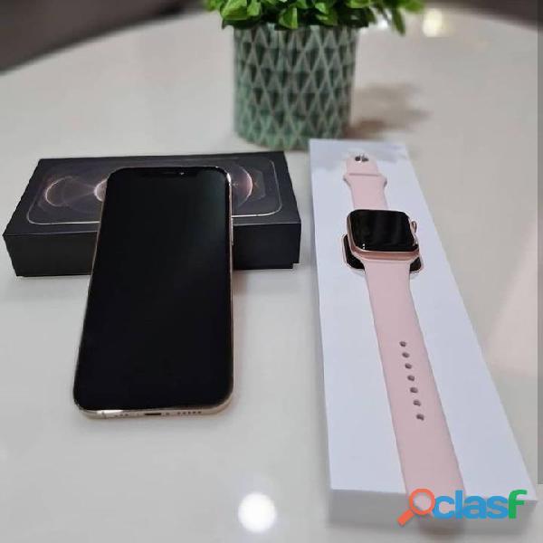 Sellado Nuevo iPhone 12 pro max + Extra Apple Watch Series 5 40 mm (ESTÉ ENTRE LOS PRIMEROS USUARIOS 2