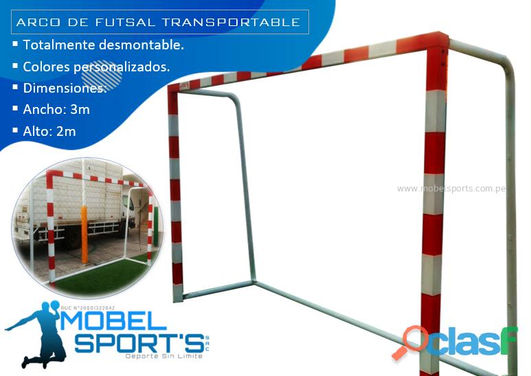 Arcos de futsal movibles   mobel sports