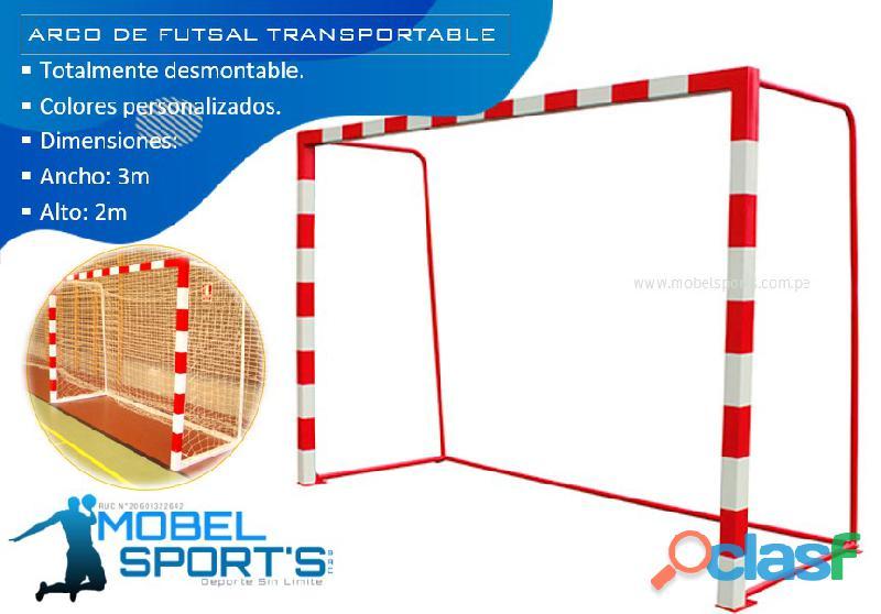 ARCOS DE FUTSAL MOVIBLES   MOBEL SPORTS 1