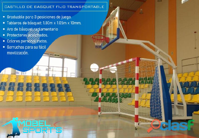 Tablero De Basketball Transportable   Mobel Sport's 3