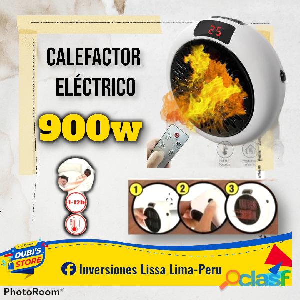 Calefactor Eléctrico de 900 Watt
