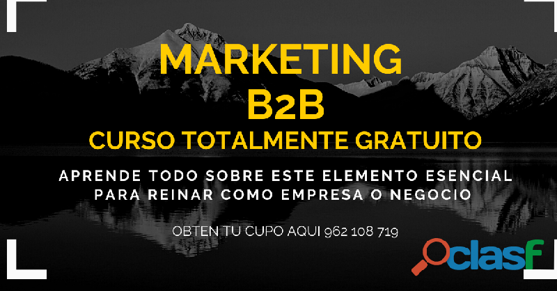 CURSO DIGITAL SOBRE EL MARKETING B2B (GRATUITO)