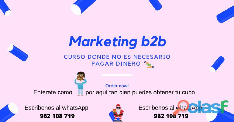 CURSO DIGITAL SOBRE EL MARKETING B2B (GRATUITO) 1