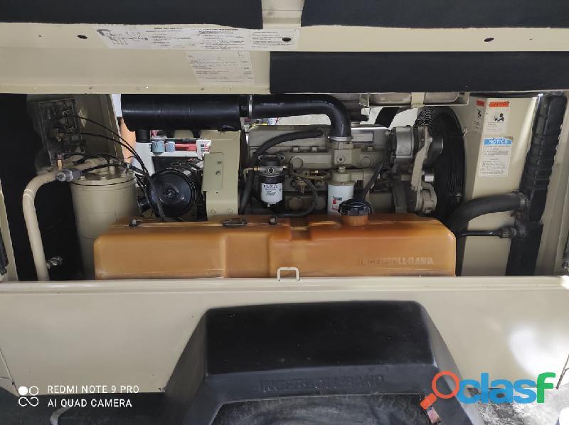 Compresora Ingersoll Tanda 185 cfm Motor Jhon Deere 2
