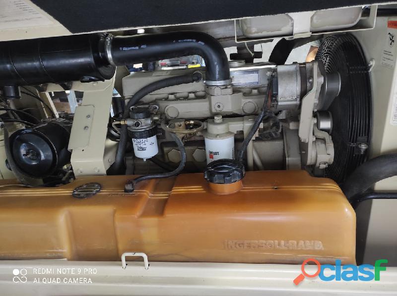 Compresora Ingersoll Tanda 185 cfm Motor Jhon Deere 1