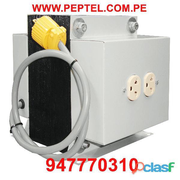 Fabricación y venta de Transformadores 220V / 110V 1