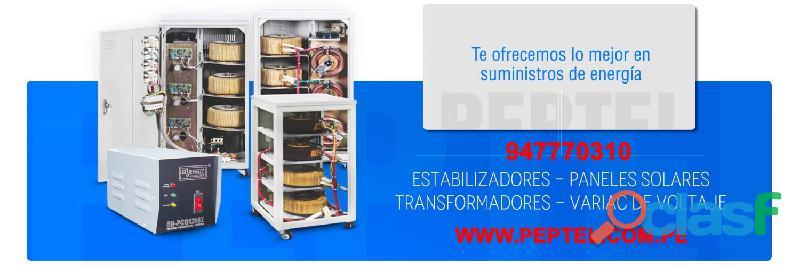 Fabricantes de estabilizadores 220VAC en Perú