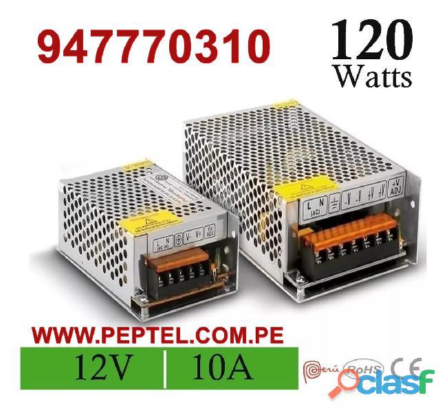 Fuentes de poder switching de 5v   12v   24v   48v y otras tensiones de salida.
