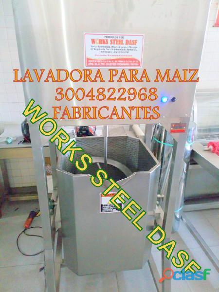 LAVADORA DE MAIZ COCCIÓN MAIZ