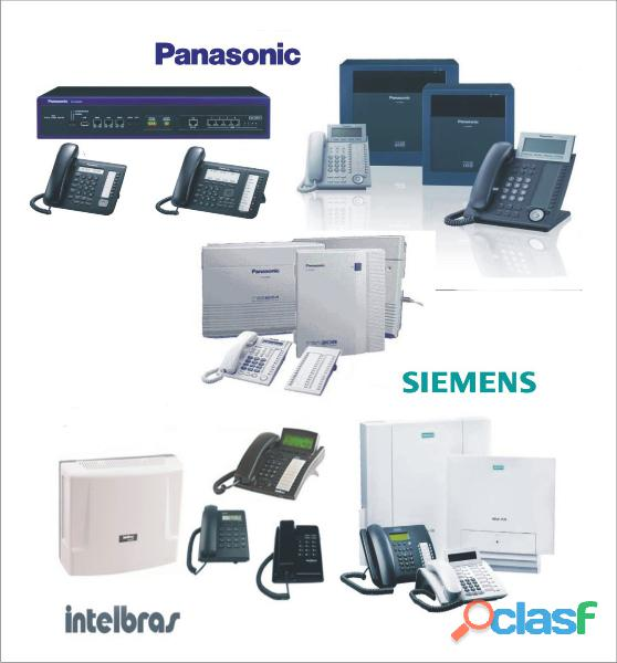 Especialistas en Centrales Telefonicas Intelbras Samsung Meridian Siemens Panasonic