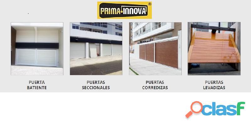 Puerta de Garaje   Control de Accesos Lima Perú 2