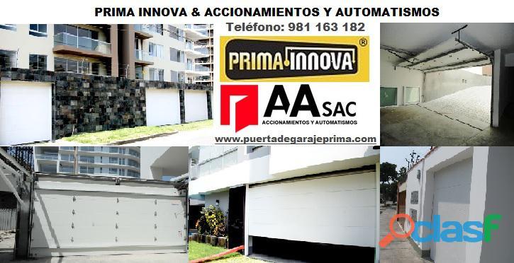 Puerta de Garaje   Control de Accesos Lima Perú 4