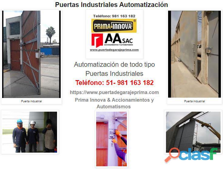 Puerta de Garaje   Control de Accesos Lima Perú 1