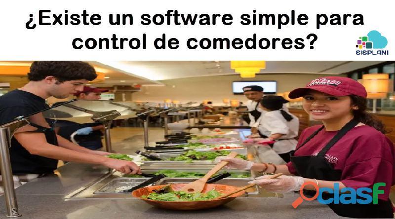 Software simple para manejo de comedor empresarial