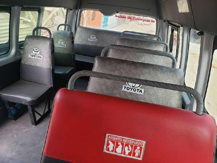 Remato asientos para toyota hiace