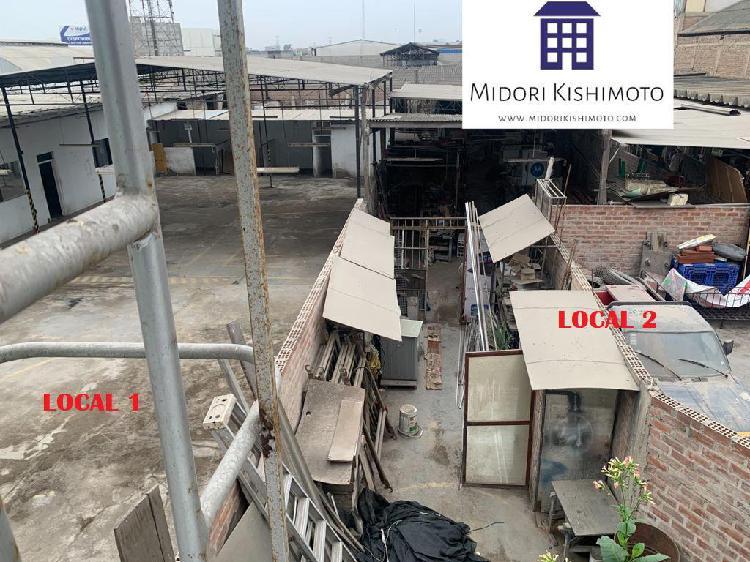 Se venden 2 locales industriales en zona industrial de san