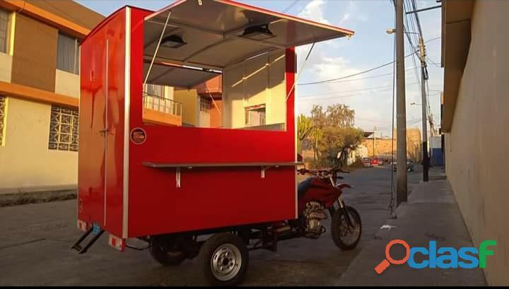 Vendo motocarga food truck