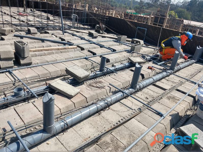 Vigueta prefabricada y bodedillas de concreto