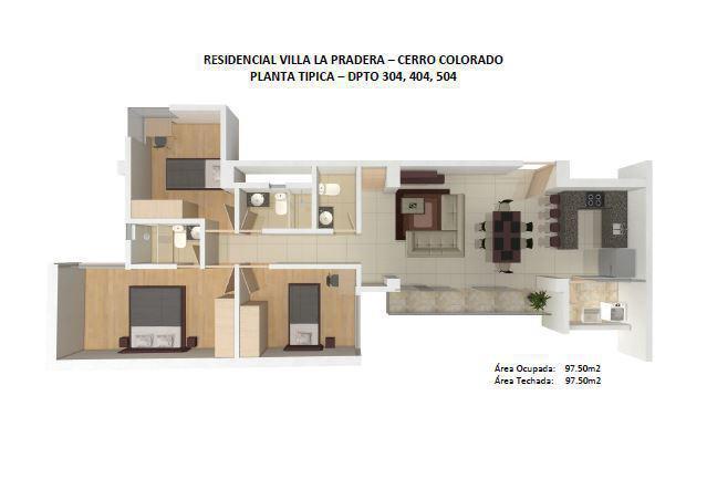 Villa la pradera 504