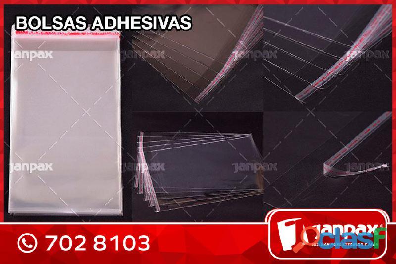 BOLSAS ADHESIVAS