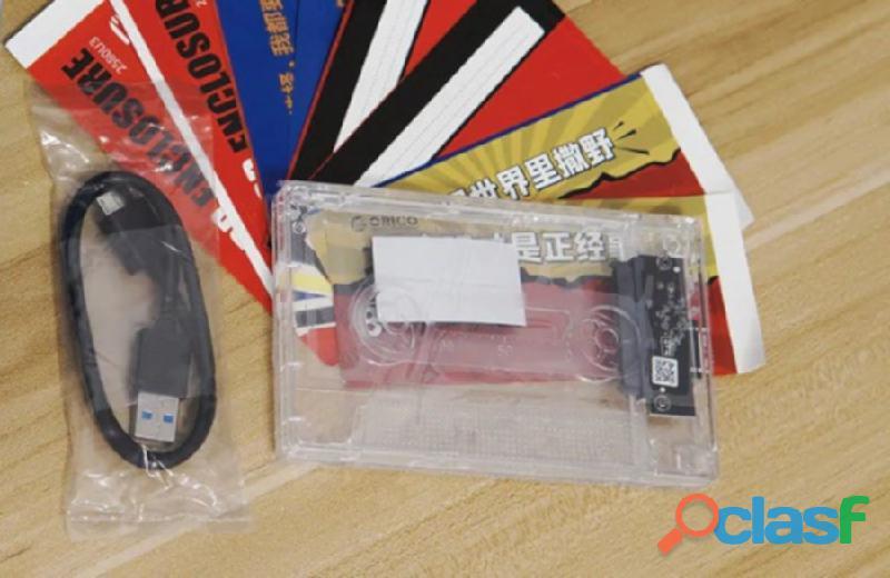 Orico Adaptador transparente disco duro 2.5 laptop Hdd Ssd a Usb 3.0