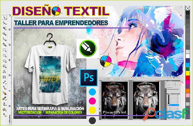 Curso de Diseño Gráfico Textil 2021 1