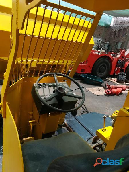mini dumper de 3 toneladas terex 2