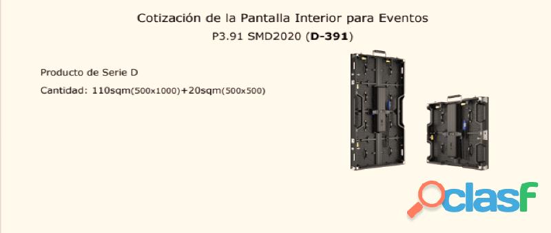 VENTA DE PANTALLAS LED PARA EVENTOS