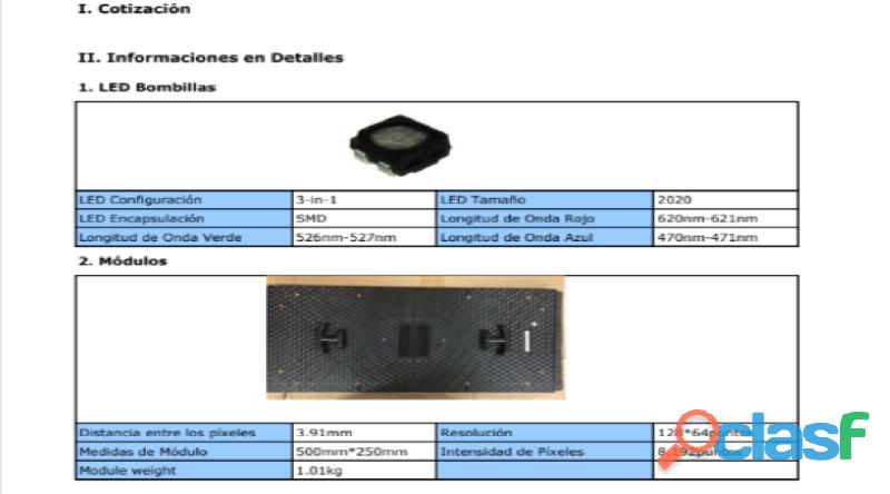 VENTA DE PANTALLAS LED PARA EVENTOS 2