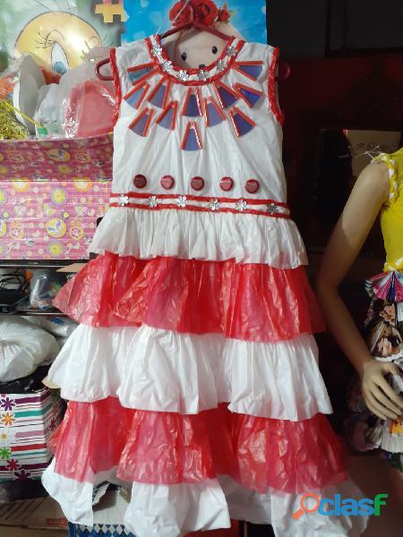 venta disfraces RECICLAJE superman batman princesas trajes tipicos 3
