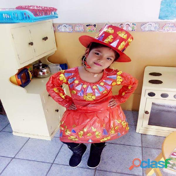 venta disfraces RECICLAJE superman batman princesas trajes tipicos 4