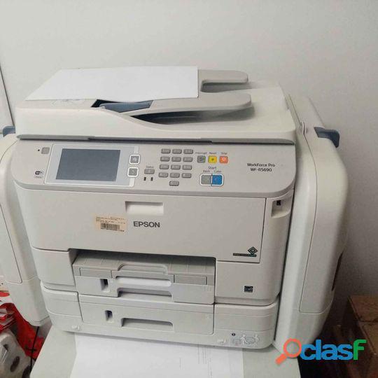 Vendo Impresora Epson Workforce Pro Wf 5690 A Un Buen Precio 2