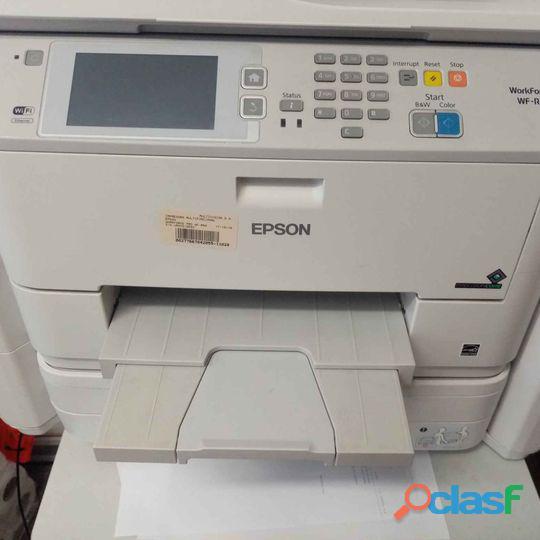 Vendo Impresora Epson Workforce Pro Wf 5690 A Un Buen Precio 9