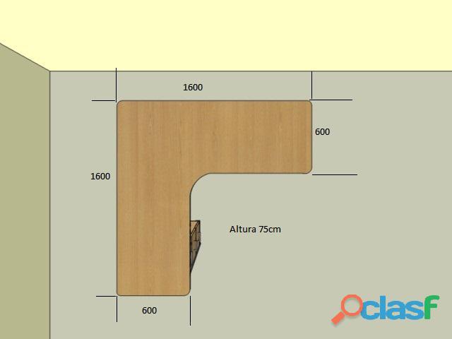 Instalaciones Electricas y Muebles en Melamina para Dptos y oficina 1