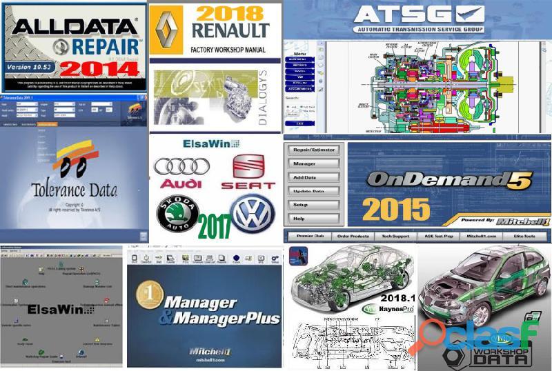 varios programas para trabajar con muchos coches
