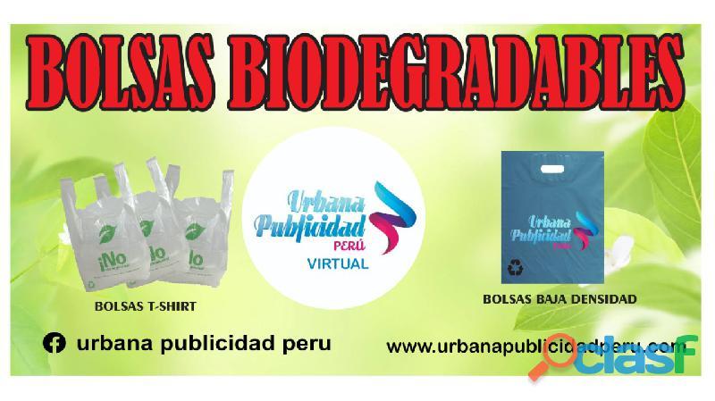 BOLSAS BIODEGRADABLE