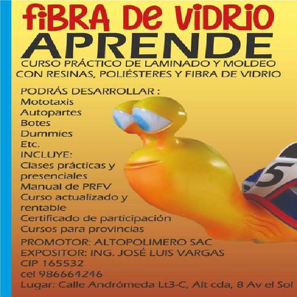 CURSO TECNICO DE FIBRA DE VIDRIO