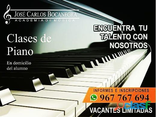 CLASES DE PIANO (on line o virtual   Presencial)