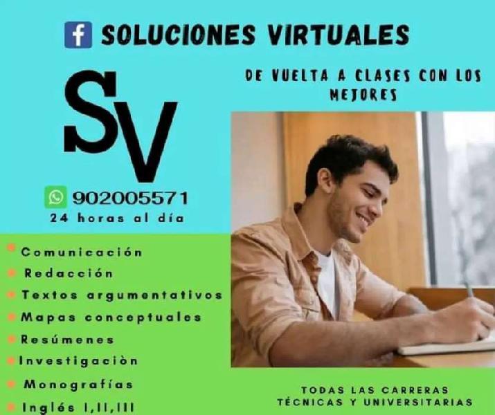Soluciones virtuales