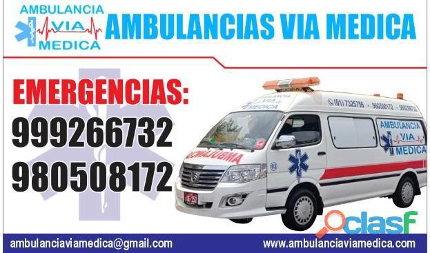 Ambulancias Via Medica