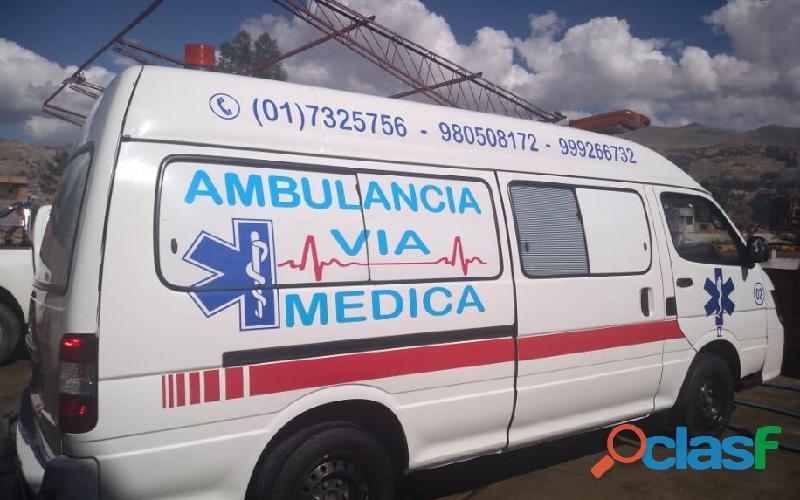 Ambulancias Via Medica 1