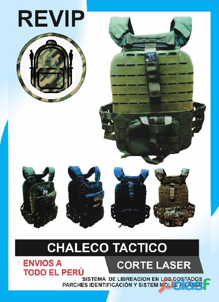 CHALECOS TACTICOS