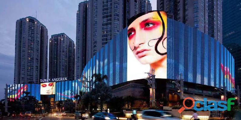 Pantallas LED de transparente para fachadas de vidrio y escaparates de tiendas 5