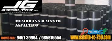 VENTA DE MANTO ASFALTICO 1