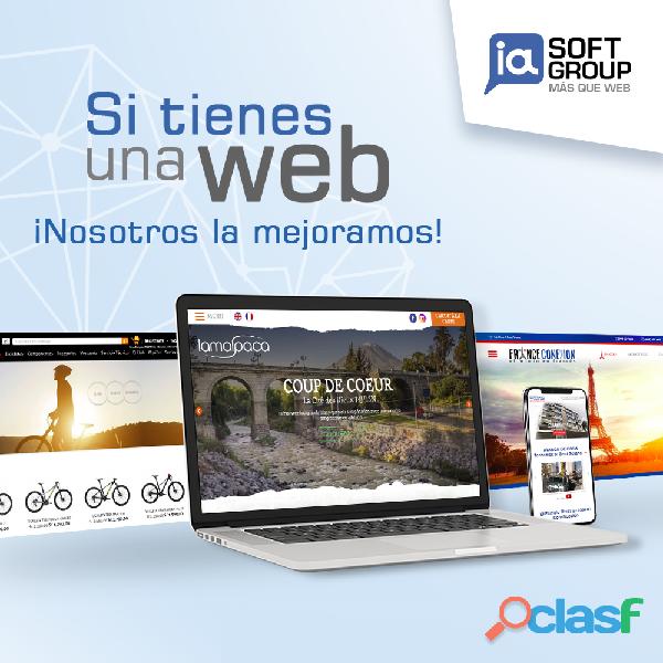 Diseño paginas web arequipa, lima peru