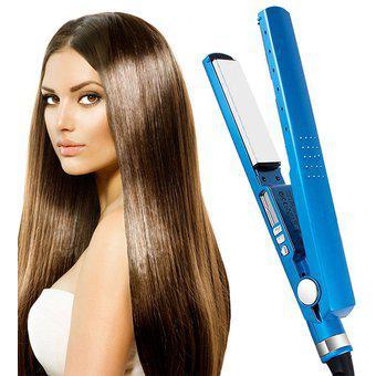 Plancha cabello alisador digital nuevo caja