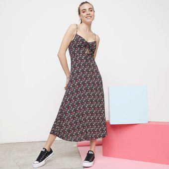 Vestido corto para mujer sybilla-multicolor